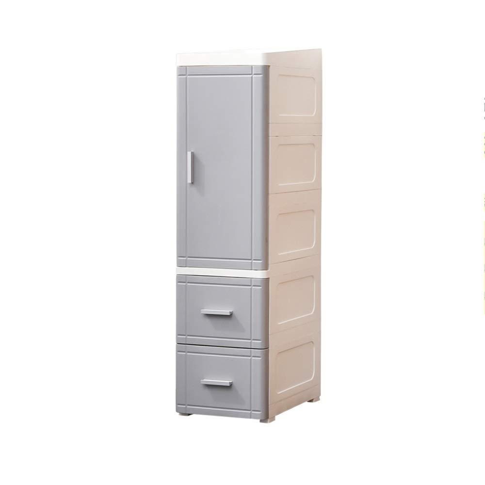 LJJL 狭いトロリー、寝室用3層フロアスタンドユニバーサルプーリープラスチック収納仕上げプラントフレーム (Color : A) B07TFGT2FK A