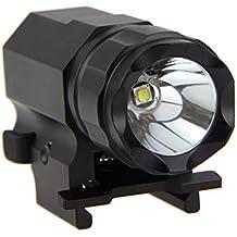 Pistol Light 20mm Pistol Flashlights 210 Lumen Gun Light with Strobe Lights for Handgun or Compact Pistols