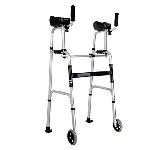 Andador,Ayuda para Caminar Plegable Ligera Rollator, para Personas Mayores Y Discapacitadas De Movilidad,Noseat