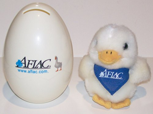 retro-talking-plush-aflac-miniature-duck-with-keychain-and-egg-bank