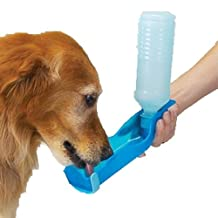 Docooler 500ml Potable Pet Dog Cat Water Bottle Dispenser Feeding Drink