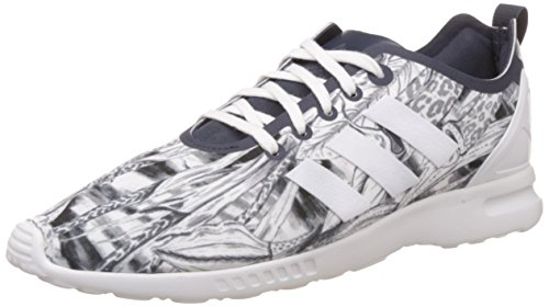 adidas ZX Flux Smooth, Baskets Femme Gris - Grau - legend ink / legend ink / core white
