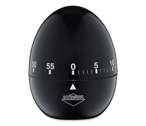 Digital Egg Shaped Timer - Küchenprofi 1009241000 Egg Timer Black