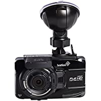 Ivation Dash Cam, G18 1080p HD Video & GPS Recorder, 140° wide angle lens, Motion Detection, G-Sensor, 5-Glass Lens, Low light WDR & HDR Dashcam, Rated Best Car Camera