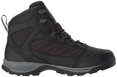 Columbia Boot Pass Black Mountain Waterproof Cascade Red Men's Hiking rAqz1rw