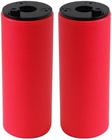 SAVAGE - Diablos para Bicicleta, Color Rojo (Red): Amazon.es: Deportes y aire libre
