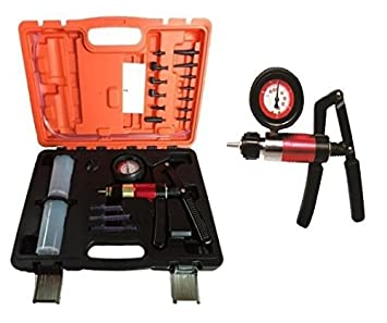 Kit Bomba de vacío/presión de frenado c/manómetro: Amazon.es: Bricolaje y herramientas