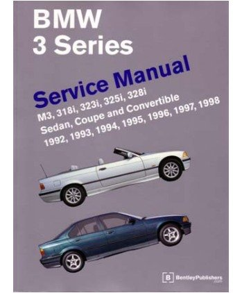 1992 1996 1997 1998 bmw 3 shop service repair manual book. Black Bedroom Furniture Sets. Home Design Ideas