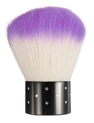Leegoal Rhinestones Cosmetic Remover Purple