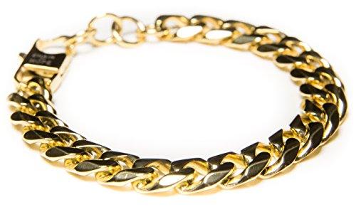Chain Dipped Silver Steel Bracelet