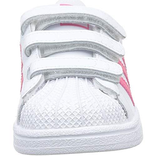 Adidas Scarpe Fitness Bambini – Bianco Da Cf blanco 000 Unisex Superstar C tRqfwrt