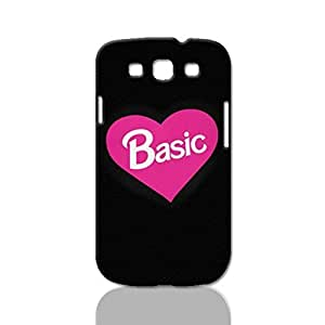 Basic Photo Hard 3D Rough Case , Fashion Image Case Diy, Personalized Custom Durable 3d Case Regular Case For Samsung Galaxy S3 i9300