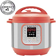 Save on Instant Pot Duo 60 Red