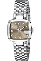 Gucci Women's YA125516 G-Gucci Stainless Steel Watch