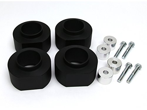 1993 - 1998 Jeep Grand Cherokee Lift Kit ZJ 3 Inch Front 3 Inch Rear BIG BRAWNS High-Crystalline NON-COMPRESSION Delrin Spring Spacers and Transfer Case Drop