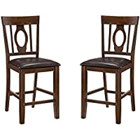 Milton Greens Stars Palma Dining Chair (Set of 2), Brown
