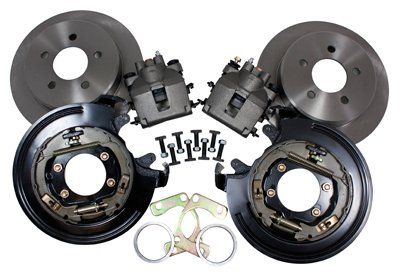 Yukon YPDBC-01 11 Disc Brake Conversion Kit Rear for Ford 9/8.8