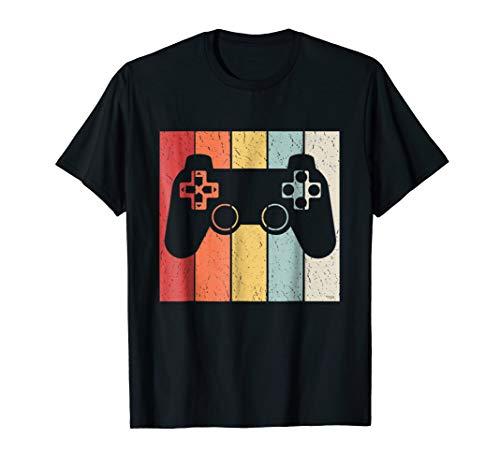 Retro Video Game T-shirt - Vintage Video Game Joystick T Shirt Retro - Gaming Console