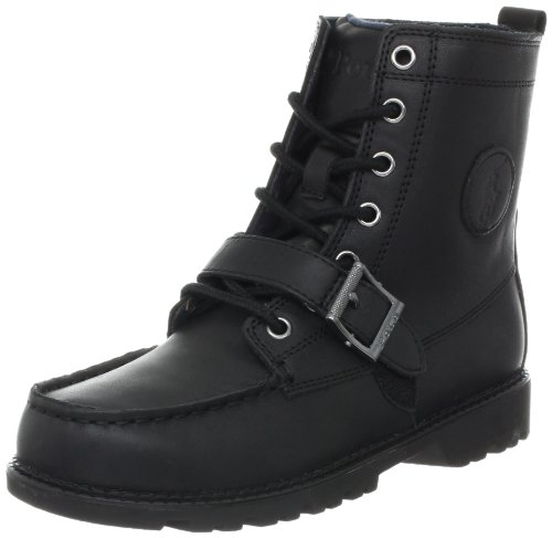 Polo by Ralph Lauren Ranger Hi II 97896 Boot (Toddler/Little Kid/Big Kid),Black,4.5 M US Toddler - stylishcombatboots.com