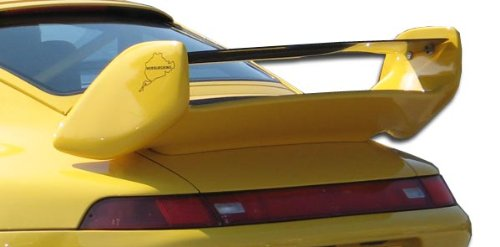 - Duraflex Replacement for 1995-1998 Porsche 993 Club Sport Wing Trunk Lid Spoiler - 1 Piece