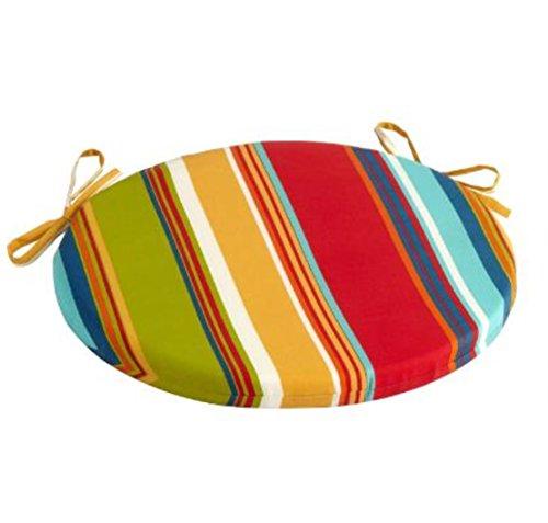 Alfresco Fiesta Stripe Indoor/Outdoor Bistro Chair Cushion 15