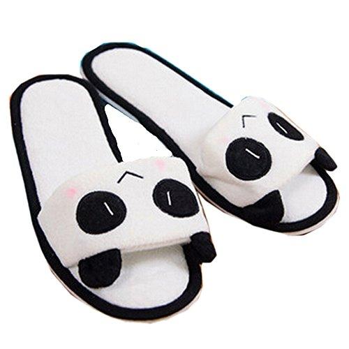 Ea @ Mercato Estate Donna Carino Panda Pantofole Peluche Pantofole Panda / Sorriso