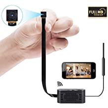 WiFi Hidden Camera SIKVIO HD 1080P Mini Spy Camera Security Camera Wireless Camera with Motion Detection Nanny Cam For iPhone/Android Phone/ iPad/PC