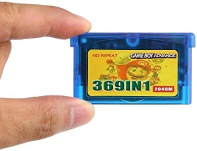 Hermosairis Min 369 in Einem 2048m Spiel Pack Card NDS Spiel für GBM GBA