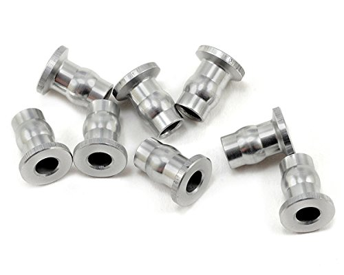 - Gmade 0020042 Aluminum Shock End Ball (8), 7x8.5mm, Silver