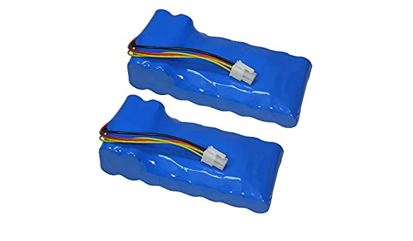 2 x Trade de Shop Premium Batería de ion de litio, 18 V/4000 mAh ...