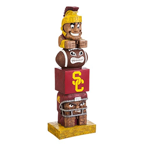 (Evergreen NCAA USC Trojans Tiki Totem, Team Colors, One Size )