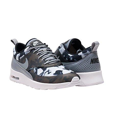 Nike Womens Air Max Thea Print Nero Grigio 599408 012