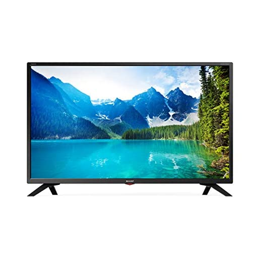 Sharp LC-32HI5332KF 32-Inch HD Ready LED Smart TV with Freeview Play – Black