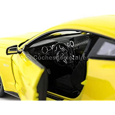 Ford 2015 Mustang GT 5.0 Yellow 1/18 by Maisto 31197: Toys & Games