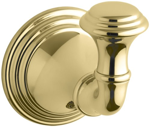 KOHLER K-10555-PB Devonshire Robe Hook, Vibrant Polished ()