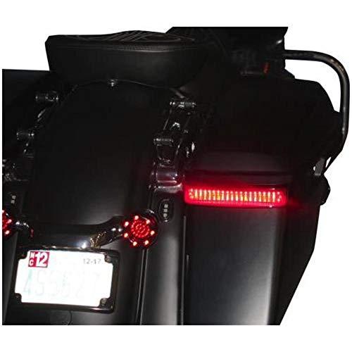 Led Saddlebag - Custom Dynamics Black Saddlebag LED Accent Lighting CD-SB-BCM-BS