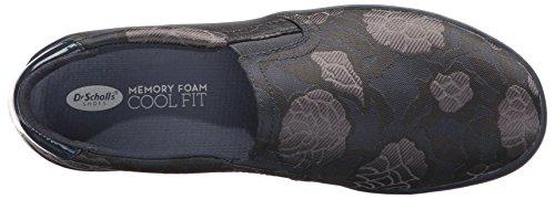 Mujer Ortopédicas Scholl's Fabric Navy Dr Jacquard Shoes fqOxw4