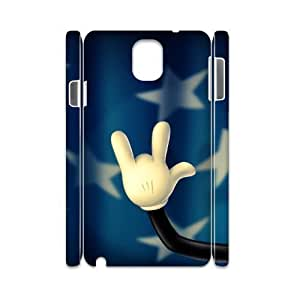 case Of Rock & Roll 3D Bumper Plastic customized case For samsung galaxy note 3 N9000