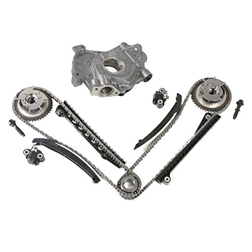 MOCA Timing Chain Kit & Oil Pump for 2004-2008 Ford F-150 F-250 & Ford Expedition & Lincoln Mark LT & Lincoln Navigator 5.4L V8 SOHC Vin Code 5