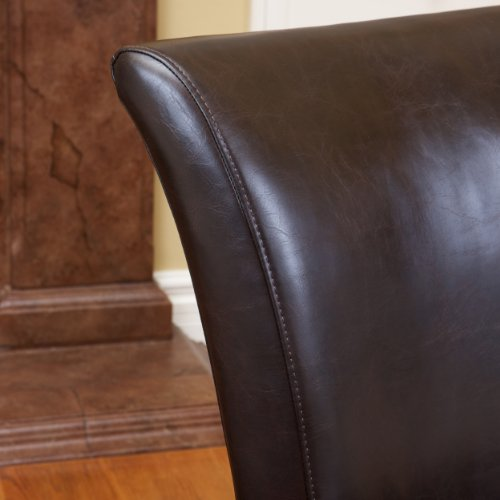 Best Selling Stanford Leather Dining Chair, of