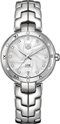 TAG Heuer Women's WAT2312.BA0956 Link Silver-Tone Stainless Steel Watch