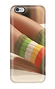 Heimie Fashion Protective Wintersocks Legs Bed Socks Colors People Women Case Cover For Iphone 6 Plus