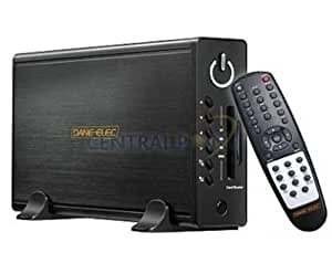 "Dane-Elec So-Speaky HDMI PLUS 500GB 2.0 500GB Negro - Disco duro externo (500 GB, 3.5"", 7200 RPM, 16 MB, 8,9 ms, MMC,SD)"
