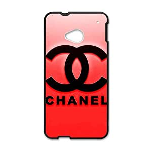 SANLSI Famous brand logo Chanel design fashion cell phone case for HTC One M7