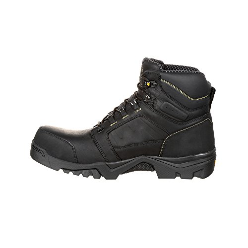 W Lightweight 14 Mens Work GB00130 Black CT amplitude WP Georgia Boot n8P6ww