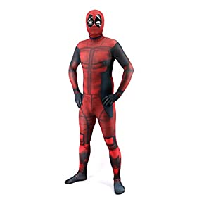 - 417EyMIIwCL - Teens Unisex Lycra Spandex Zentai Halloween Cosplay 3D Style Costumes