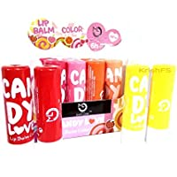 Matt Look Candy Love Lip Balm 6 Hrs Continuous Moisture 4 Color