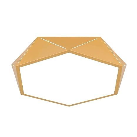 Amazon.com: Lámpara de techo de acrílico moderno, montaje ...