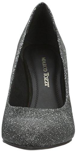 22425 Femme Gris 297 Tozzi Metallic Marco Grey Escarpins atw5zIIq