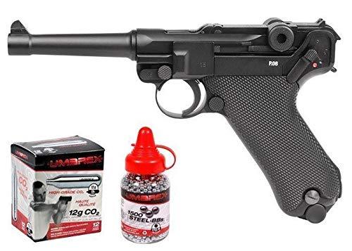 - Legends Blowback P08 CO2 Pistol Kit, Full Metal air pistol